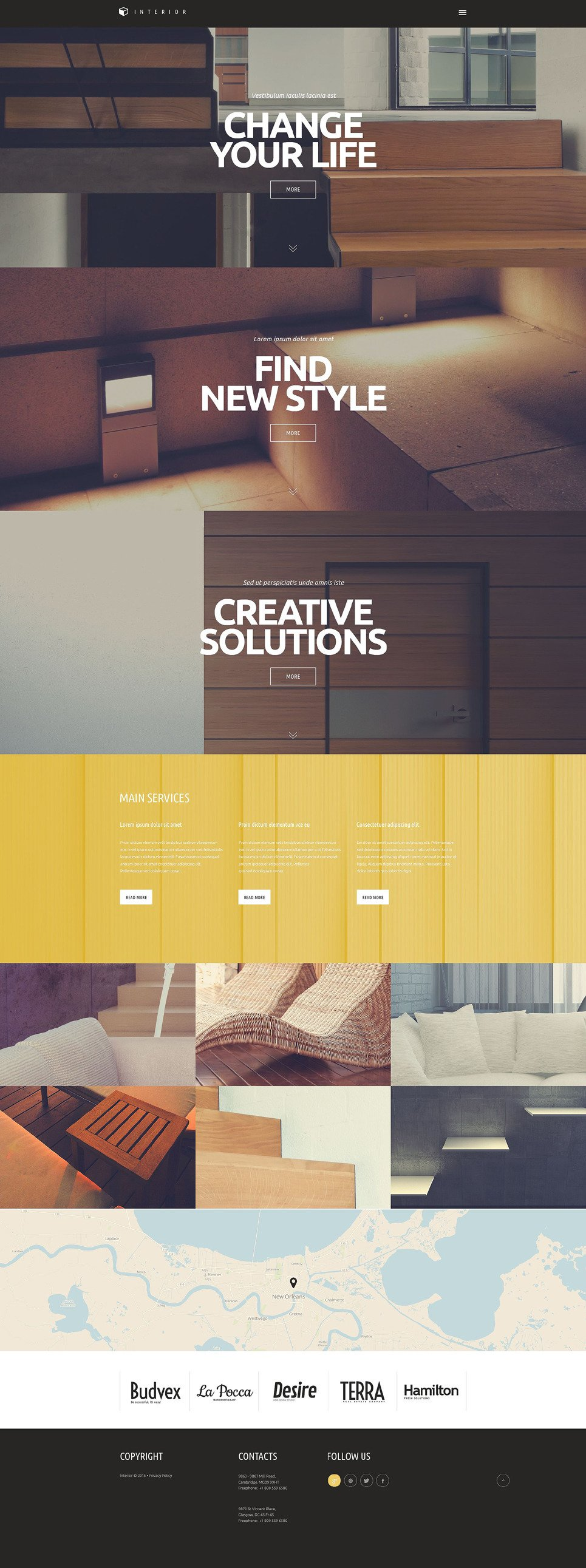 Furniture Responsive WordPress Theme New Screenshots BIG