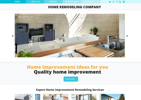 Home Remodeling Responsive