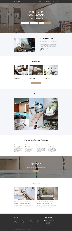 hotel booking website wordpress