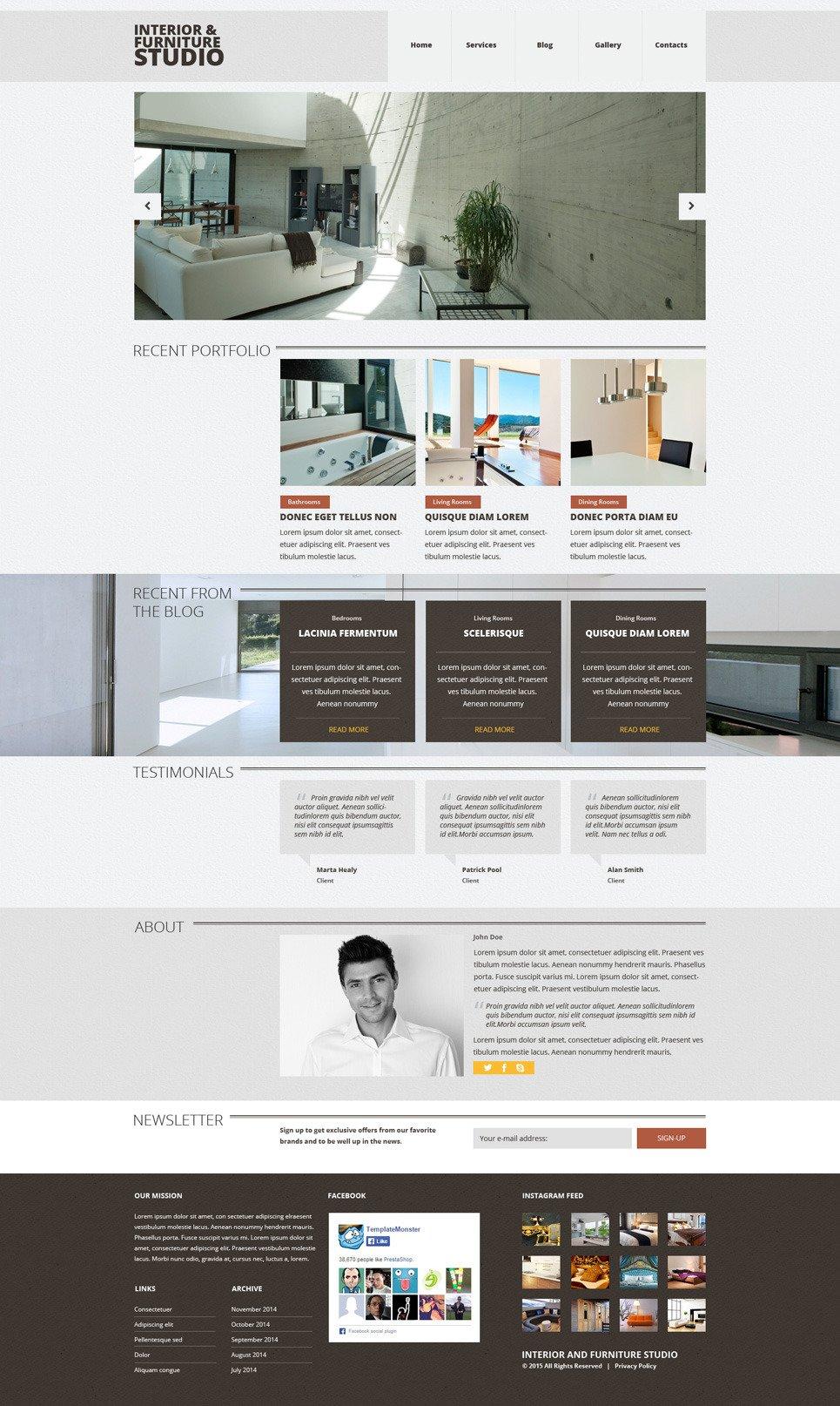 Furniture Joomla Themes