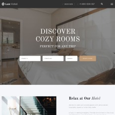 1169 best business website templates lux hotel hotel multipage html5 premium website template flashek Images