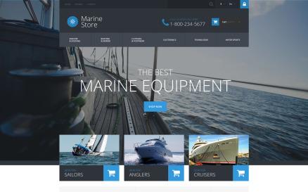 Marine Store PrestaShop Theme