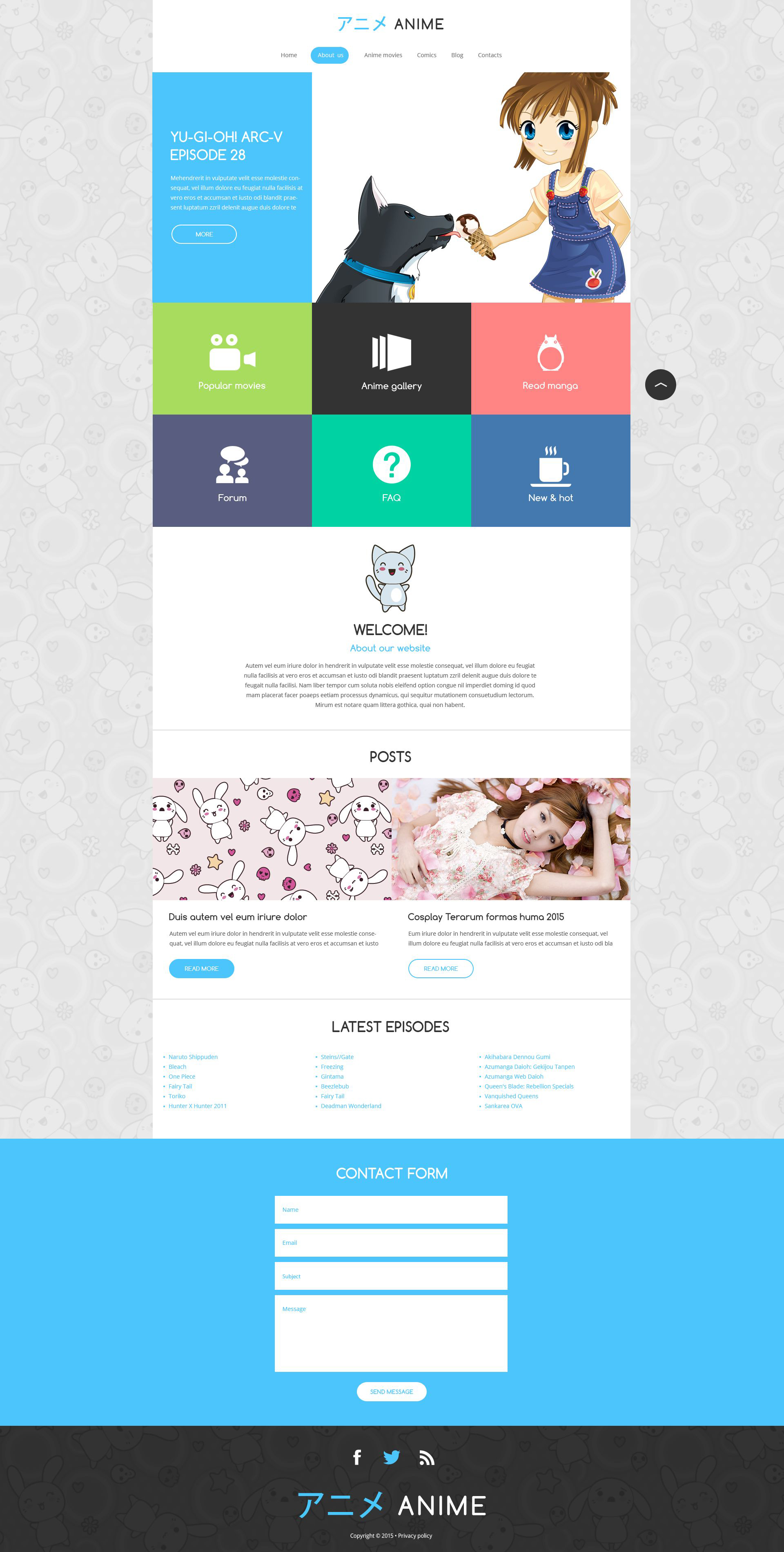 Movie responsive drupal template 52895 for Drupal 7 view template