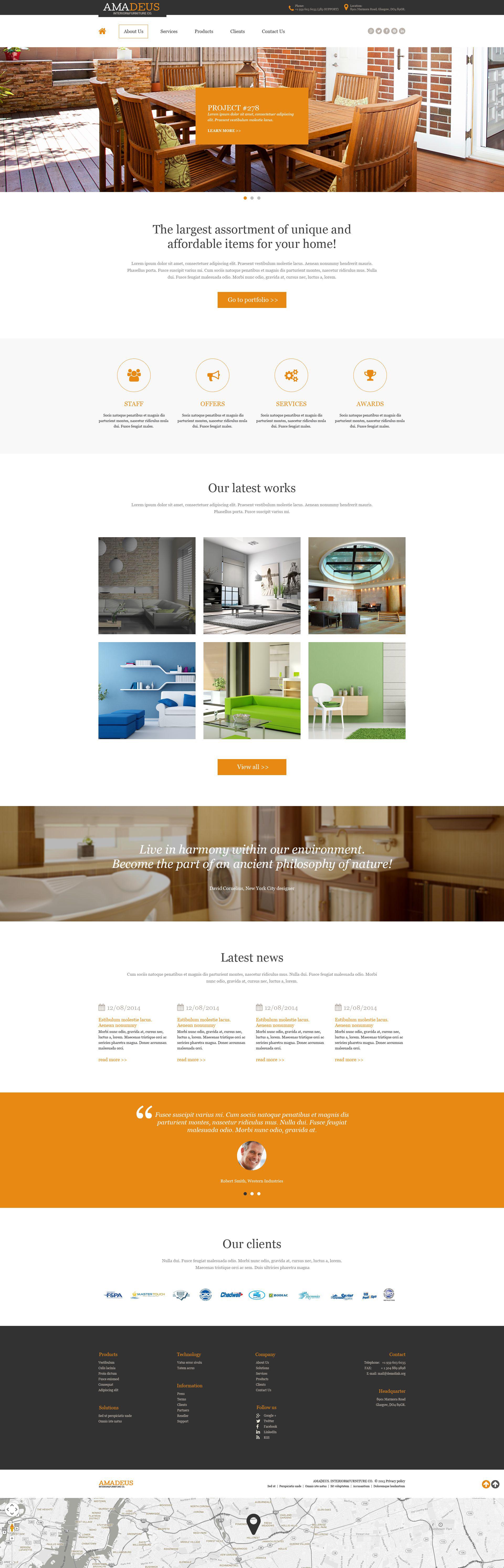 Muse šablona Interiér a nábytek #52868