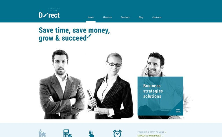 Online Business Agent WordPress Theme