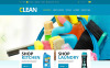 Plantilla OpenCart para Sitio de Servicios de limpieza New Screenshots BIG