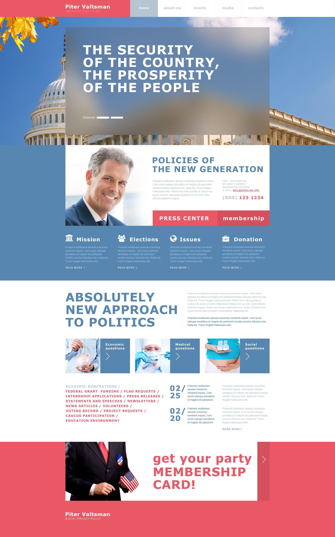political brochure templates