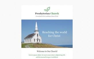 Presbyterian Responsive Newsletter Template