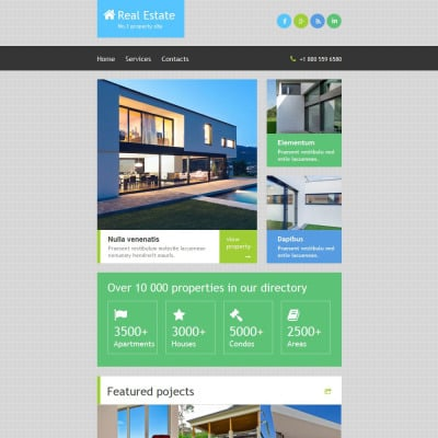 Real Estate Newsletter Templates | TemplateMonster