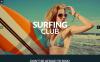 Responsive WordPress thema over Surfen  New Screenshots BIG