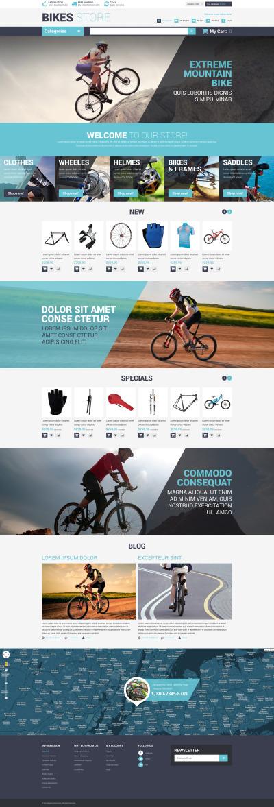 Cycling Responsive Magento Motiv