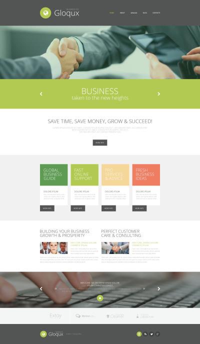 Business Responsive Weboldal Sablon