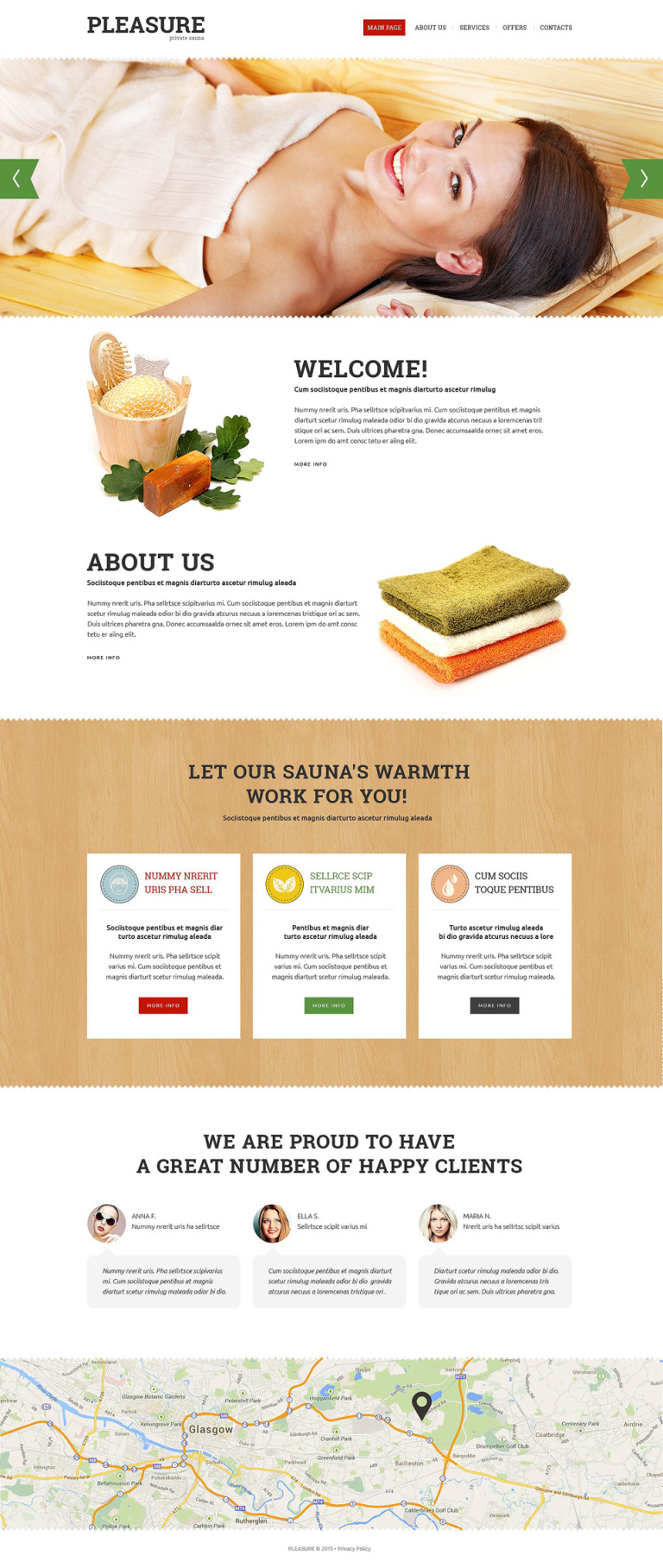 Sauna Responsive Website Template New Screenshots BIG