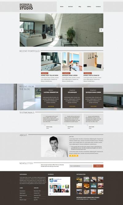 Tema Joomla Responsive #52863 per Un Sito di Arredamento e Design #52863