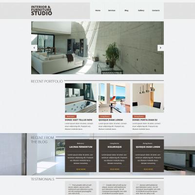 Flexível template Joomla №52863 para Sites de Interior e Móveis
