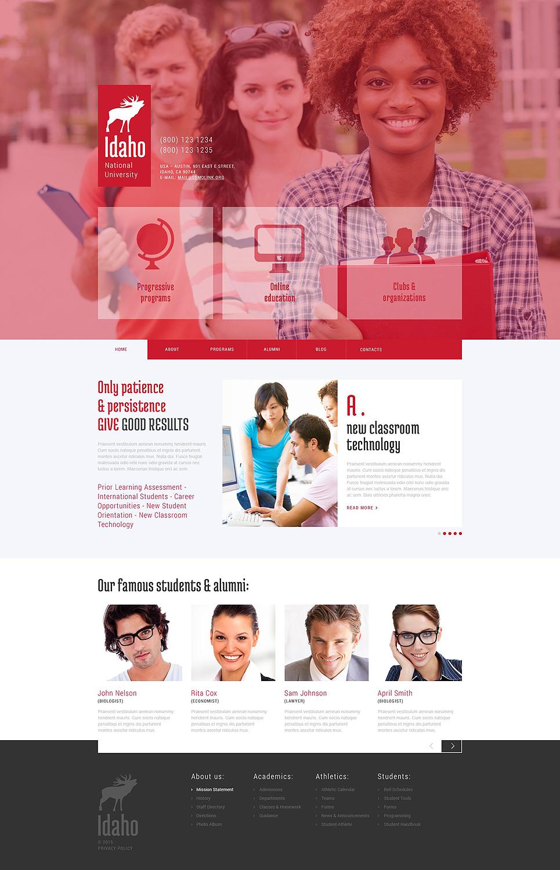 University Education WordPress Theme #52830