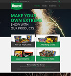 Entertainment osCommerce  Template 52904