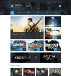 Games WordPress Template 52906