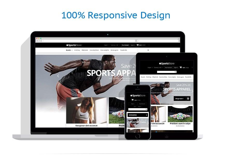 Thèmes PrestaShop Sport #52907