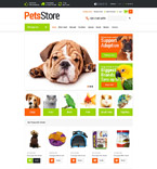 Animals & Pets osCommerce  Template 52909