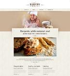 Food & Drink Website  Template 52920