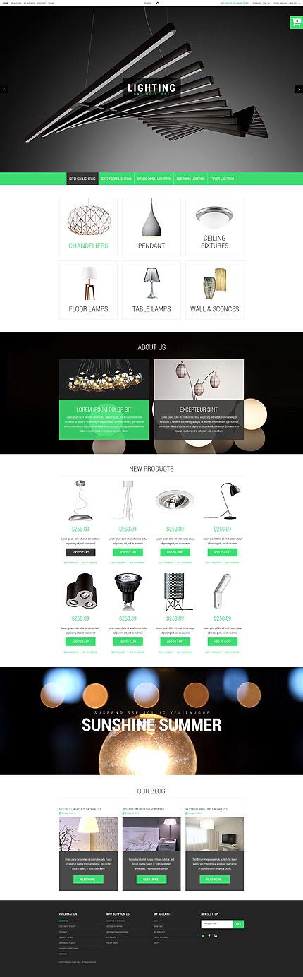 Magento Theme/Template 52921 Main Page Screenshot
