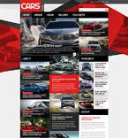 Cars Joomla  Template 52922