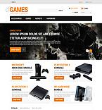 Games PrestaShop Template 52926