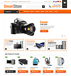 Electronics osCommerce  Template 52928