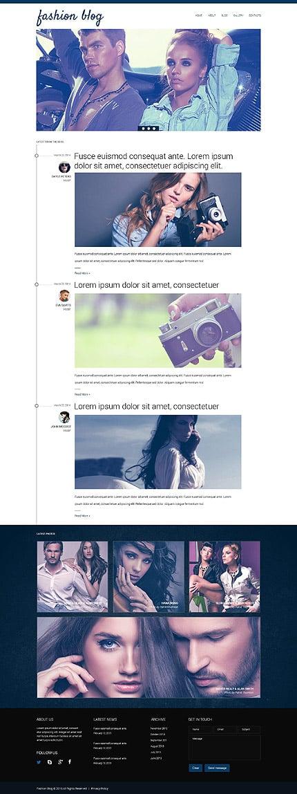 Drupal Template 52930 Main Page Screenshot