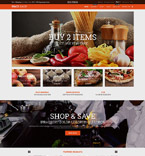 Food & Drink Shopify Template 52935