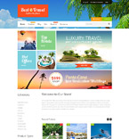 Travel Shopify Template 52936