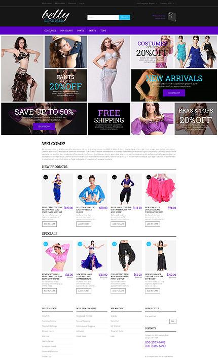 Magento Theme/Template 52937 Main Page Screenshot