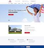 Politics Website  Template 52938
