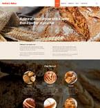 Food & Drink Website  Template 52941
