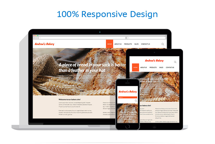 Modèles HTML5 Alimentation et Boissons #52941