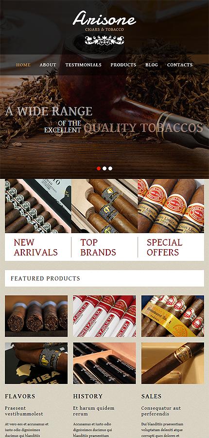 WordPress Theme/Template 52945 Main Page Screenshot