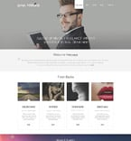 Personal Page WordPress Template 52949