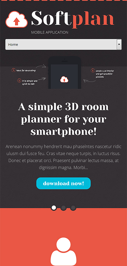 WordPress Theme/Template 52951 Main Page Screenshot