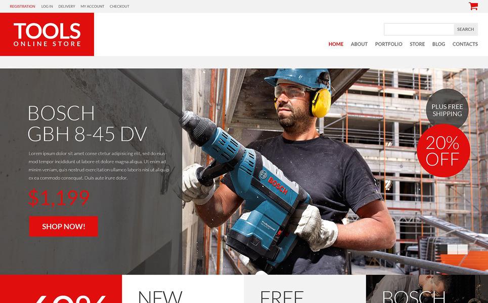 Responsive WooCommercie Thema over Instrumenten & Apparatuur  New Screenshots BIG