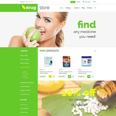 Купить  пофессиональные VirtueMart шаблоны. Купить шаблон #52955 и создать сайт.