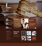 Law Website  Template 52959