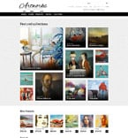 Art & Photography Magento Template 52963