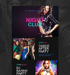Night Club Newsletter  Template 52966