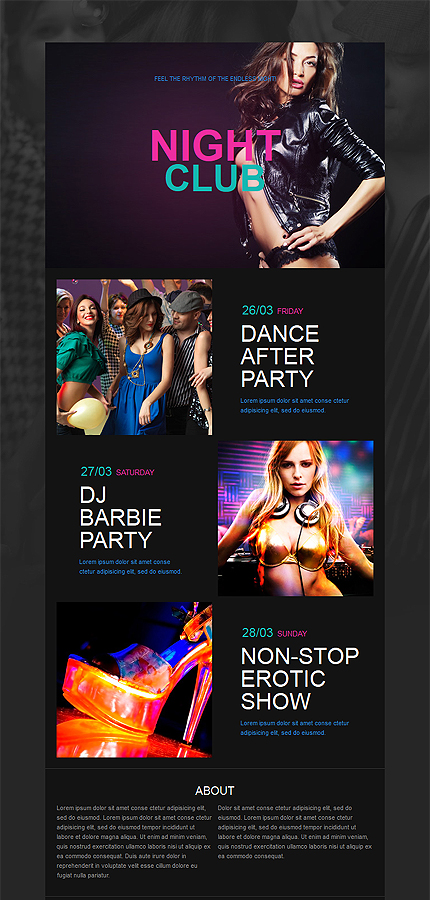 club newsletter templates