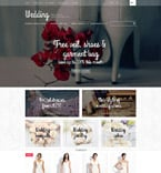 Wedding OpenCart  Template 52969