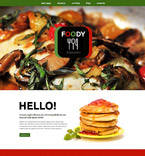 Cafe & Restaurant Drupal  Template 52972