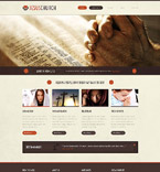 Religious Website  Template 52974