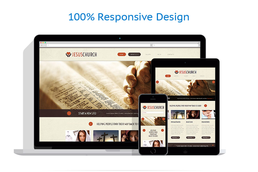Modèles HTML5 Religieux #52974