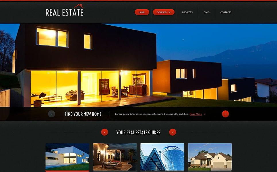 Responsive Website template over Makelaarskantoor New Screenshots BIG